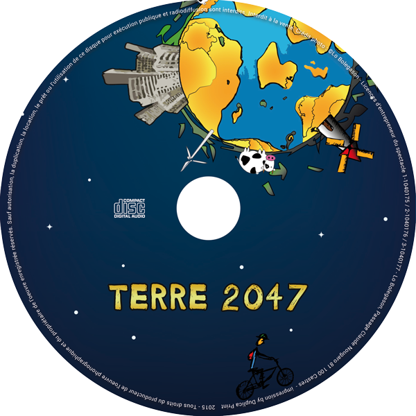 Terre 2047- rond CD